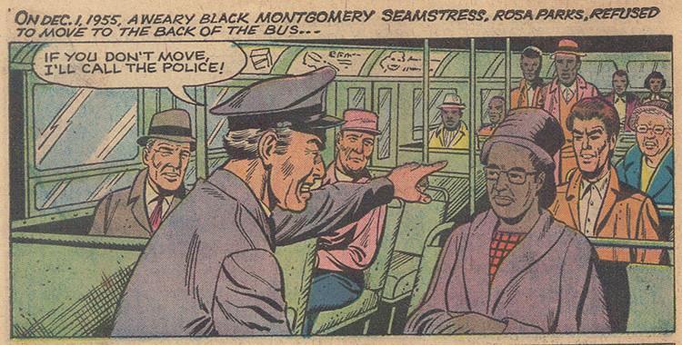 1955年Rosa Parks因拒絕讓座給白人乘客而遭逮捕,後續引發聯合抵制公車運動。有人將同婚問題與黑人境況相比,但兩者真可相提並論?
