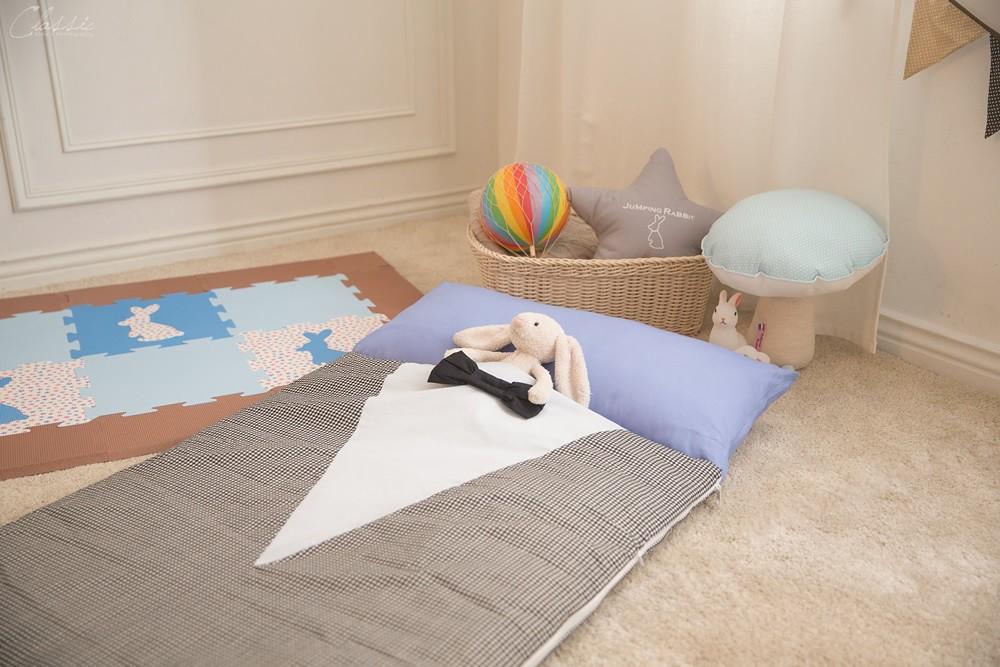 兔子跳跳兒童舒芙蕾睡袋