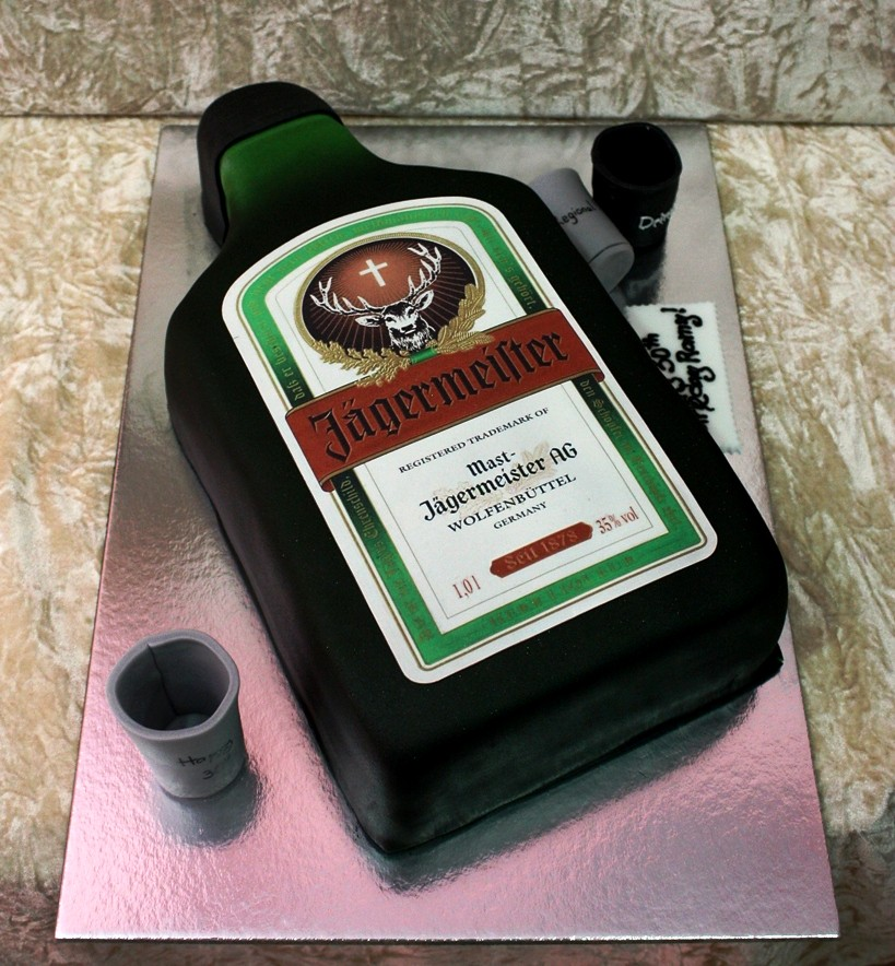 Jagermeister Cake Ideas