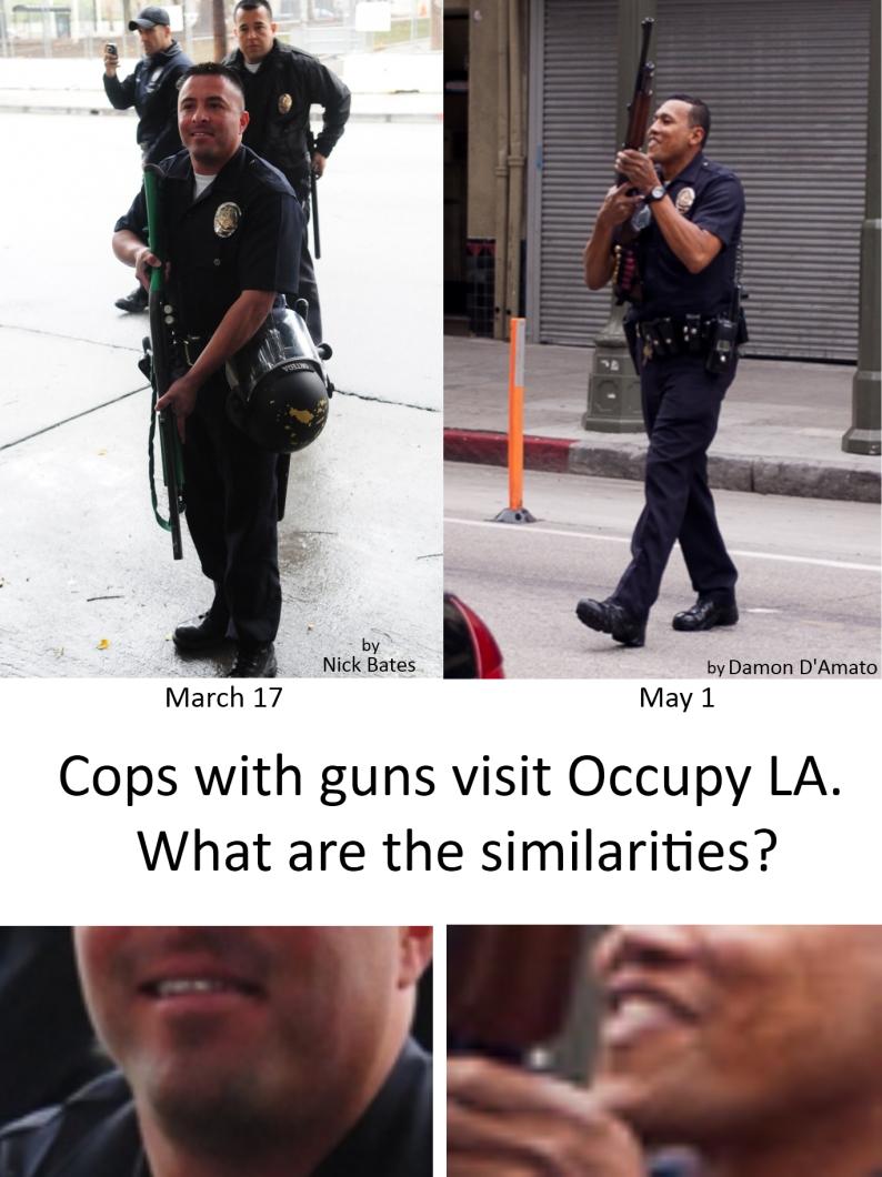 Occupy LA Shotgun Picnics f