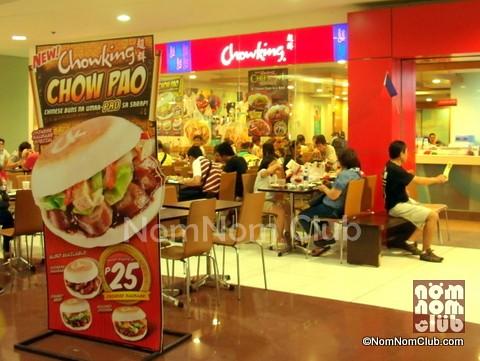 Chow Restaurant Menu