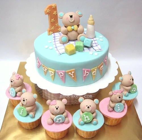 Picnic Decorated Cakes