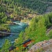 Rails along the Kootenai