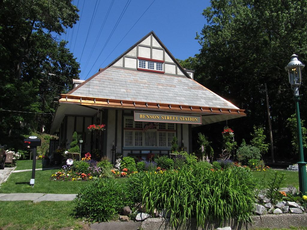 Benson Street Station Glen Ridge New Jersey The Benson