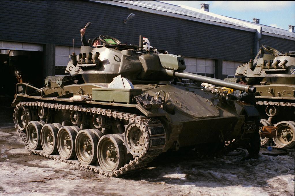 NM-116 panserjager / Chaffee M-24 | A very little tank ... M24 Tank