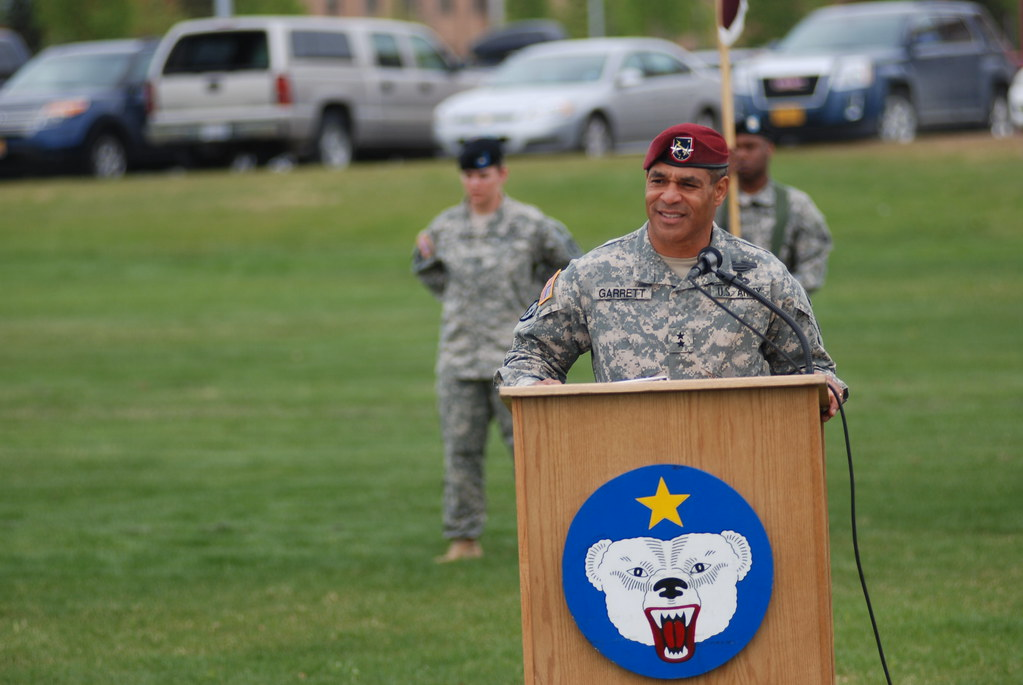 Maj. Gen. Michael X. Garrett Praises Both The