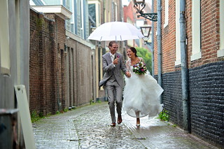 Rain on Your Wedding Day... | by HannyB