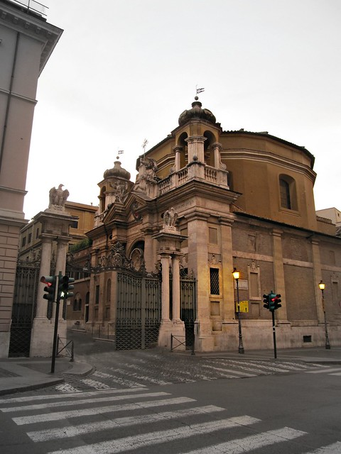 Roma San Pietro Via Di Porta Angelica Ingresso Citt