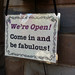 Come in and be fabulous!