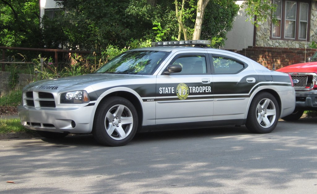 Dodge Charger Nc State Trooper Across From Durham