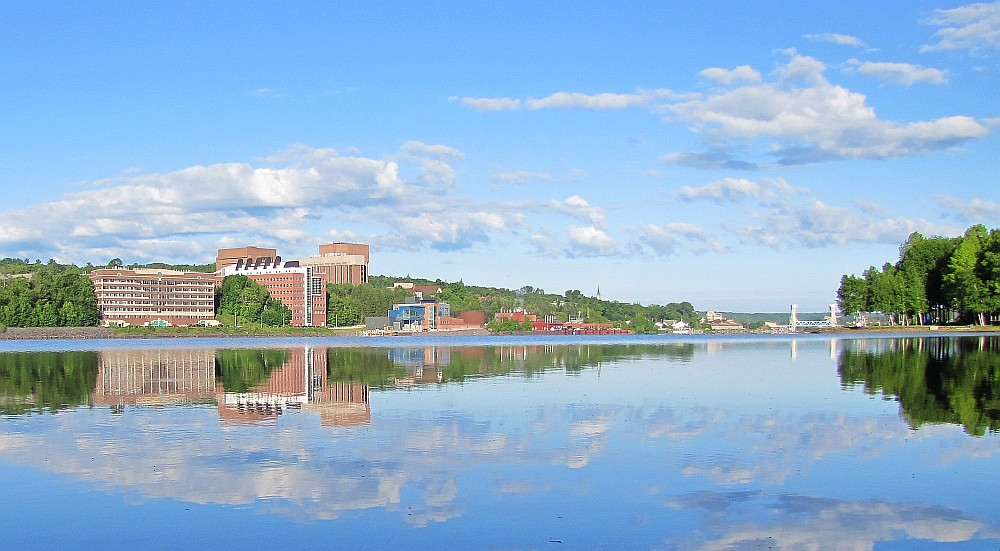 Early Morning picture of Michigan Tech waterfront | Early ...