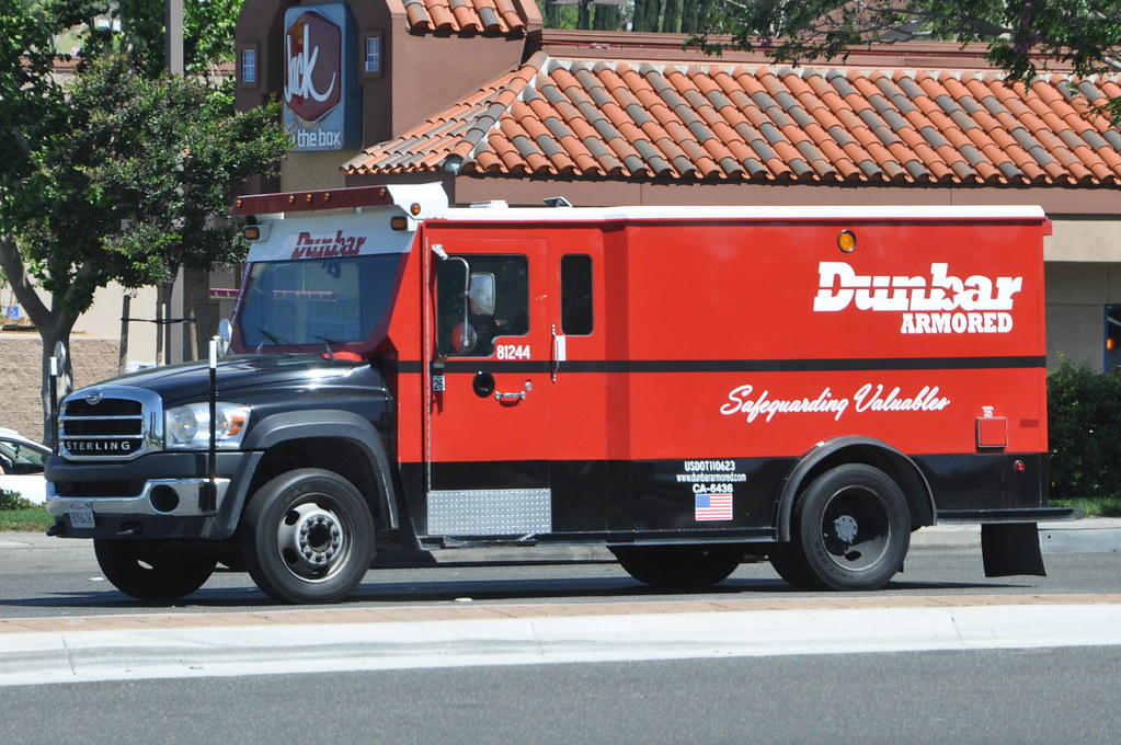 Dumbar Armored Sterling Armored Truck Navymailman Flickr