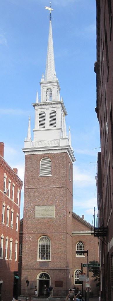 Old North Church The Old North Church In Boston A