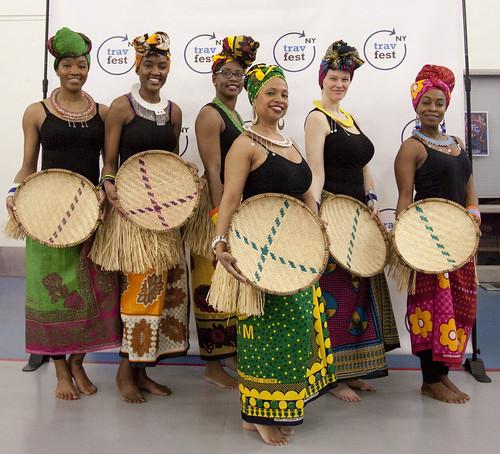 tanzanian dancers
