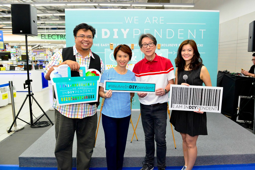 """At the launch of the """"We Are InDIYpendent"""" campaign in November last year."""