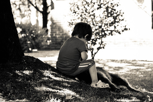 Kid and Dog | by Berenice Decados