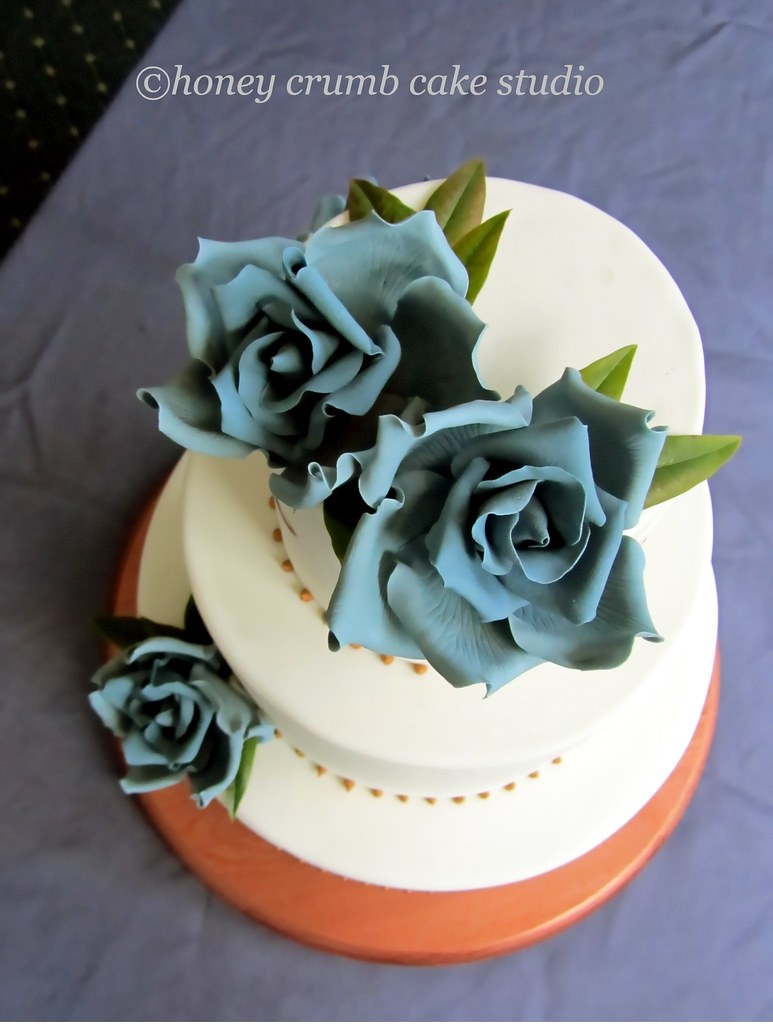 gum paste wedding flowers