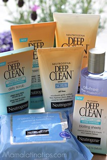 Neutrogena Deep Clean line | by Mamalatinatips
