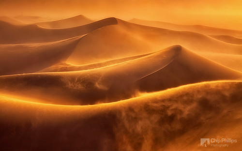 Death Valley Dune Storm | by Chip Phillips