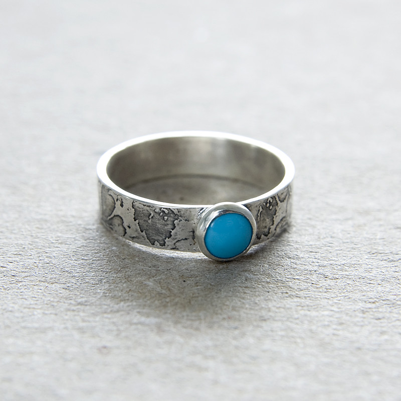 Sterling Silver Turquoise Ring Jewelry