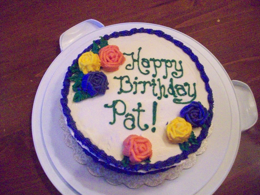 Happy Birthday Cake For Patricia Images