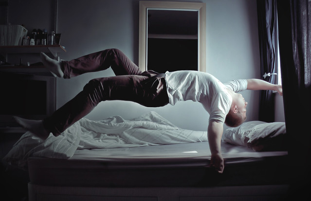 how to stop tossing and turning in sleep