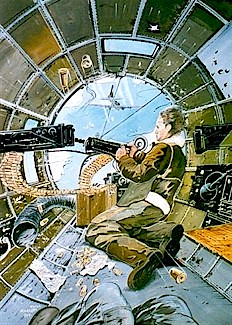 B17 Nose Turret Gunner Every Man A Gunner The 70 Foot