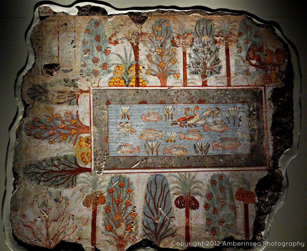 NEBAMUN'S GARDEN OF THE WEST - The tomb-chapel of Nebamun … | Flickr