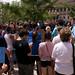 Pre-parade chanting