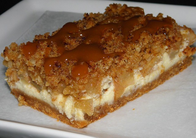 Caramel Apple Cheesecake Bars | Flickr - Photo Sharing!