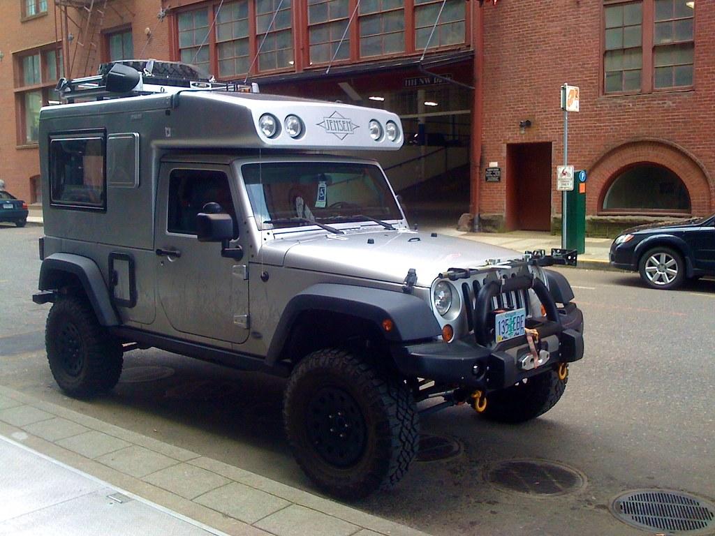 Postal Jeeps Jeep camper 3 | Sam Beebe | Flickr