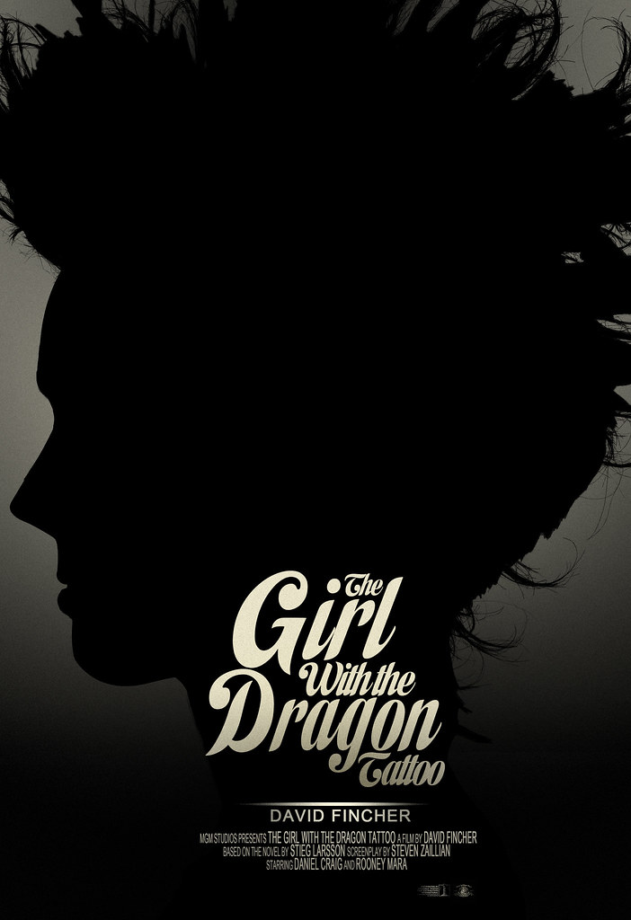 Girl With The Dragon Tattoo - Film Poster | Rhys_Callow | Flickr The Girl With The Dragon Tattoo Poster