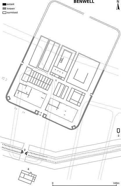 plan of Benwell