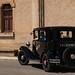 An old car in Morey-Saint-Denis, Burgundy, France