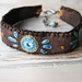 Turquoise and Brown Boho Bracelet