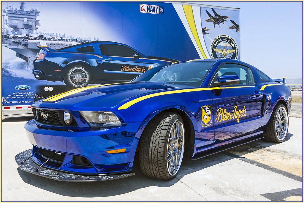 Blue Mustang gt Mustang gt Blue Angels
