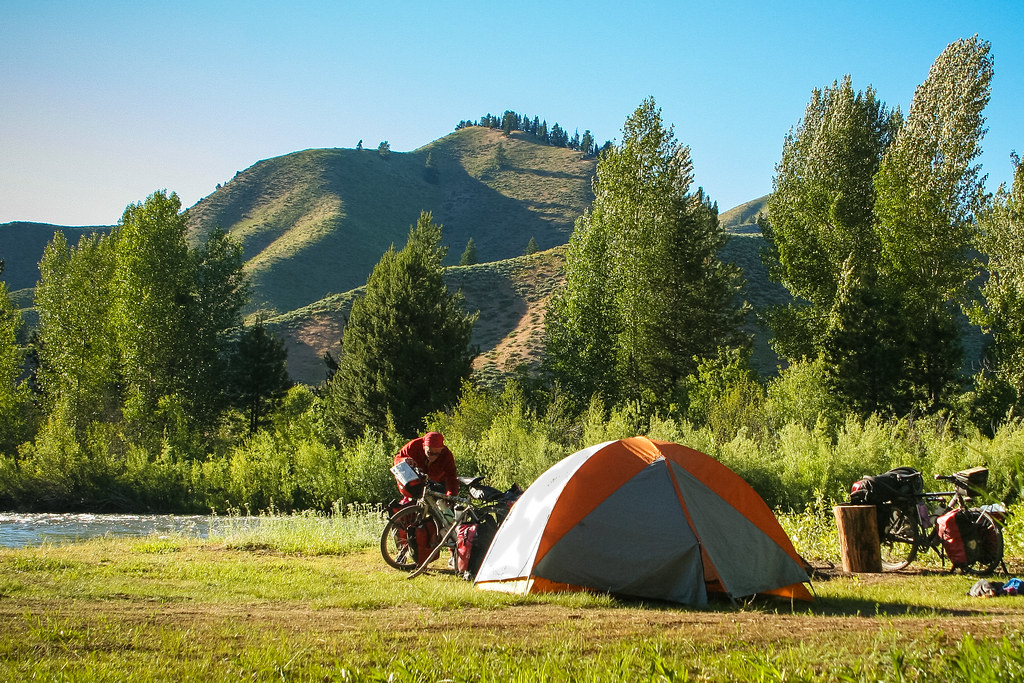 camping near Baumgartner Hot Springs Idaho