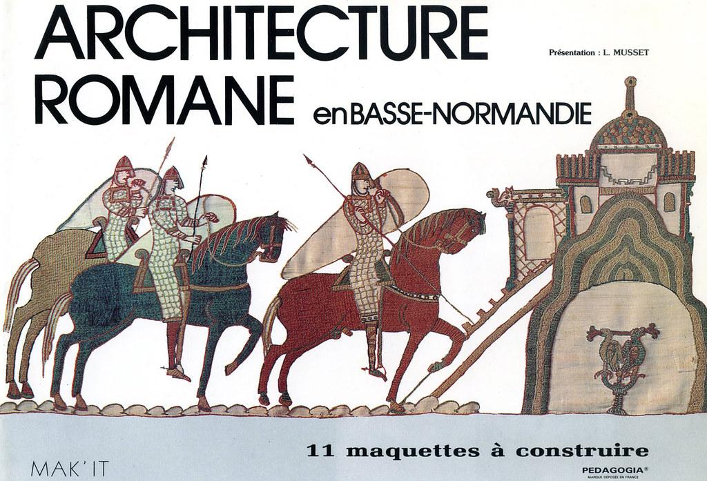 Architecture romane en basse normandie livre d coupage for Architecture romane definition