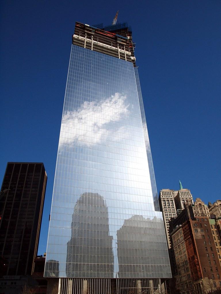 Four World Trade Center Construction Site New York City