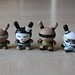 Gold Life Dunnys and Samurai & Geisha Dunny Set