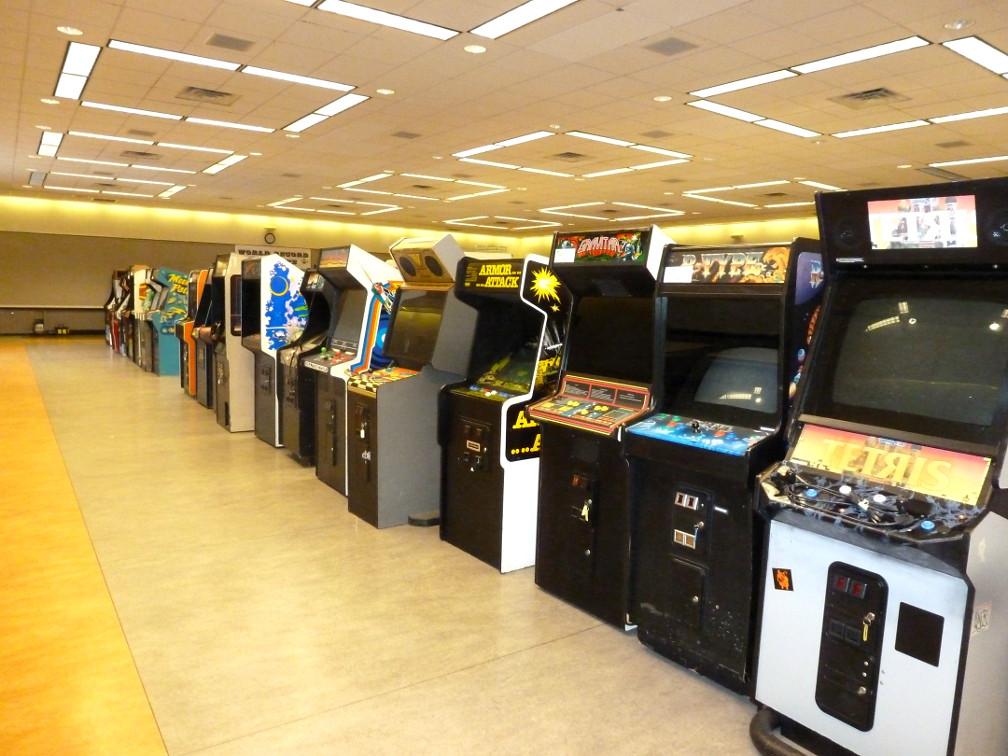 Arcade Game Rooms With Punching Bag Machine San Antonio