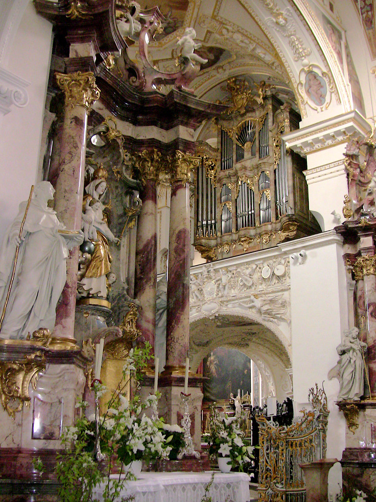 kempten st lorenz basilika seitenaltar und orgel 46 1 flickr. Black Bedroom Furniture Sets. Home Design Ideas
