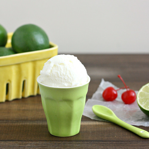 Fresh Lime Sherbet | by Tracey's Culinary Adventures