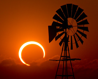 2012 Annular Solar Eclipse - Lubbock, Texas | by unripegreenbanana