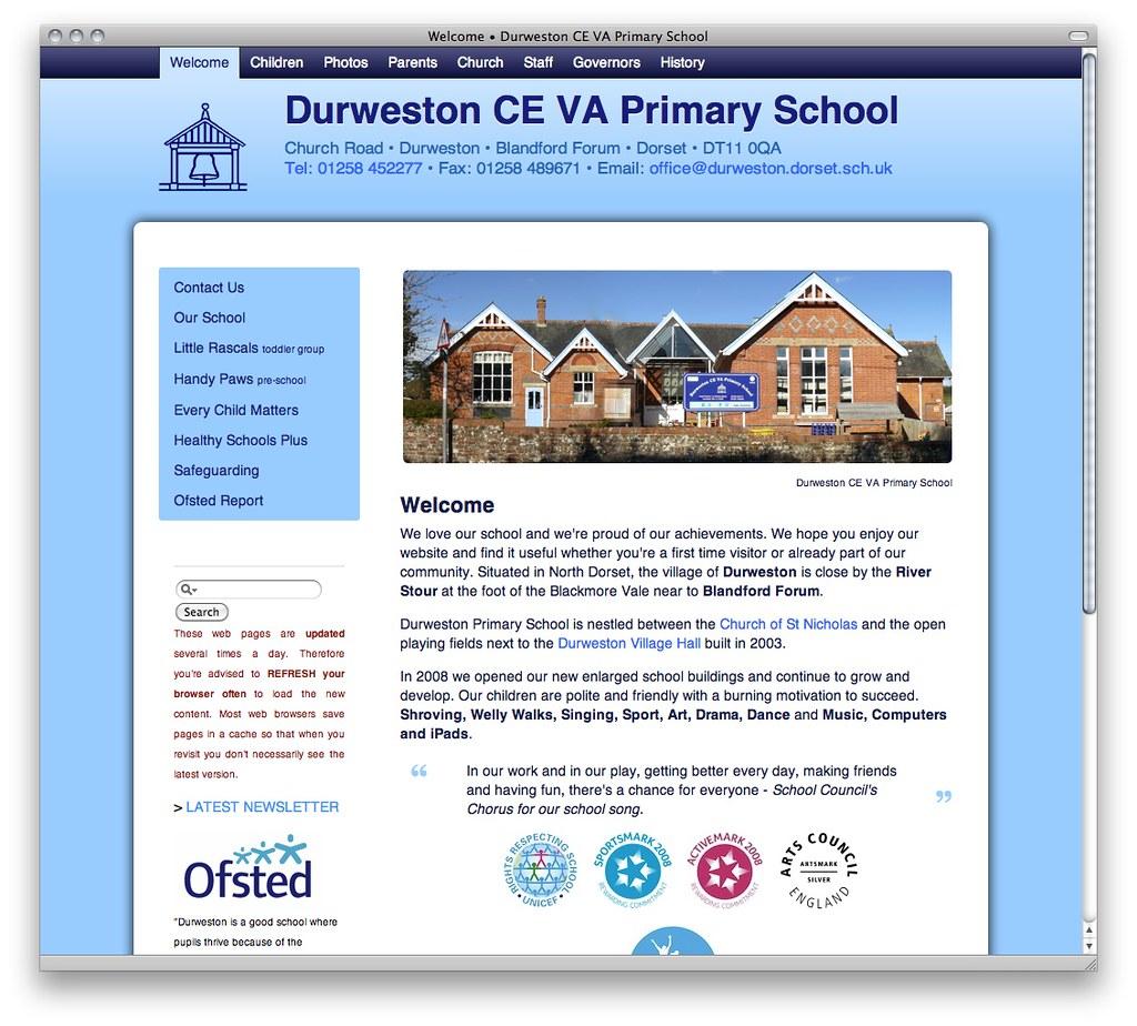 Ilam C Of E Va Primary: Welcome • Durweston CE VA Primary School