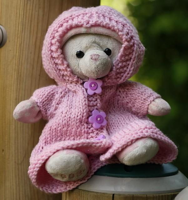 Bunny's Sweater Dress Raincoat Hoodie (2)
