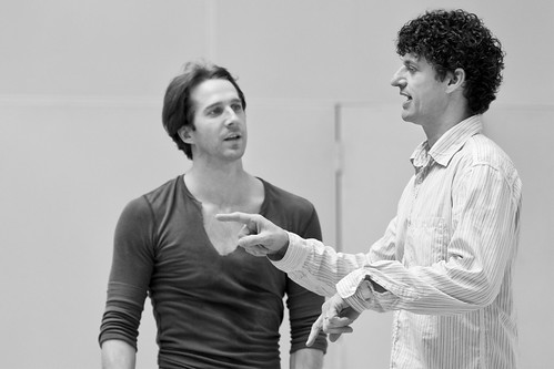 Nehemiah Kish in rehearsals with Jonathan Cope for The Prince of the Pagodas © Johan Persson/ROH 2012 | by Royal Opera House Covent Garden