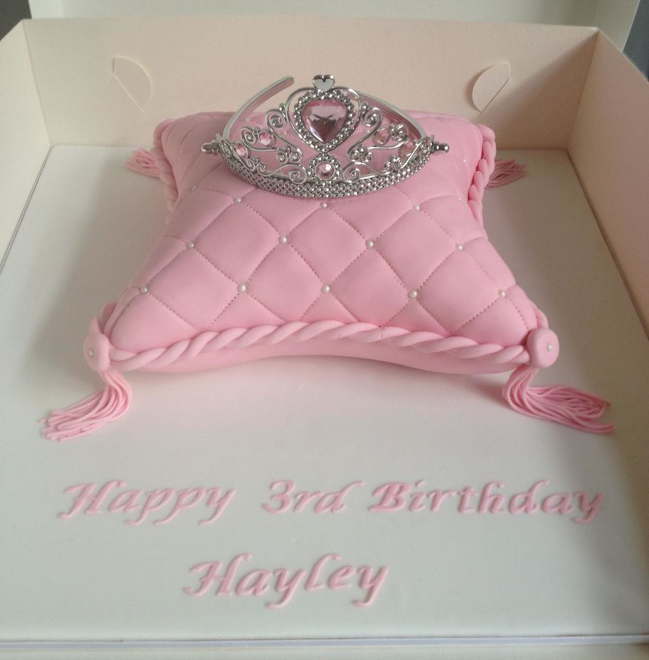 Princess Pillow Cake Created For A Little Friend At Pre