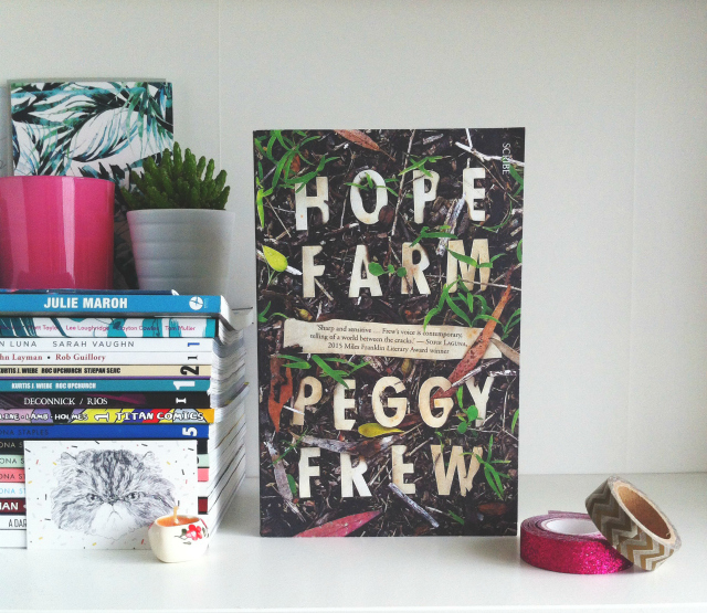 book haul uk book bloggers vivatramp hope farm peggy frew review
