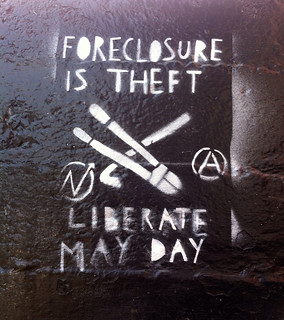 Foreclosure is Theft | by wiredforlego